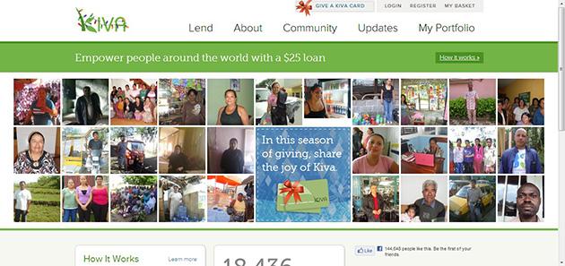 kiva plataforma financiación colectiva de microcréditos para acabar con la pobreza y mejorar la vida de la gente trabajadora