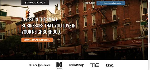 smallknot plataforma financiación colectiva para proyectos locales
