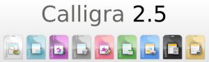 calligra 2.5 logo